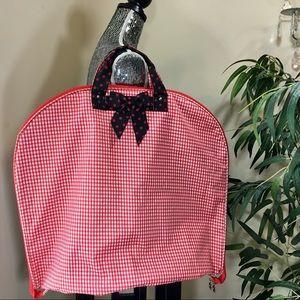 Handbags - Red weekender travel hanging garment organizer